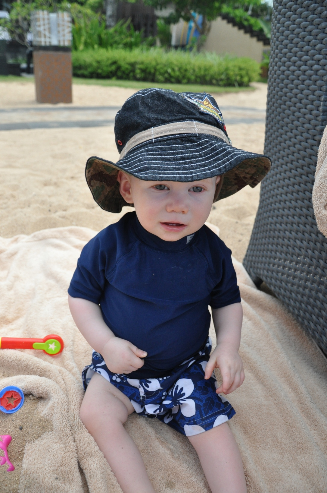 Better learn to love wearing a hat in the sun.